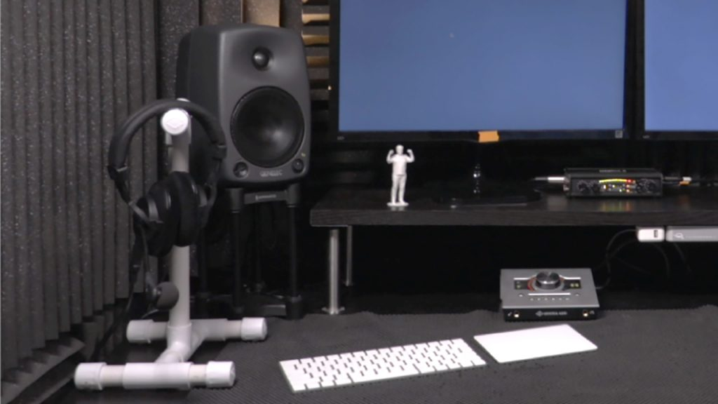 PVC Dual Headphone Stand